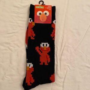 Sesame Street Elmo Socks (3 for $20)